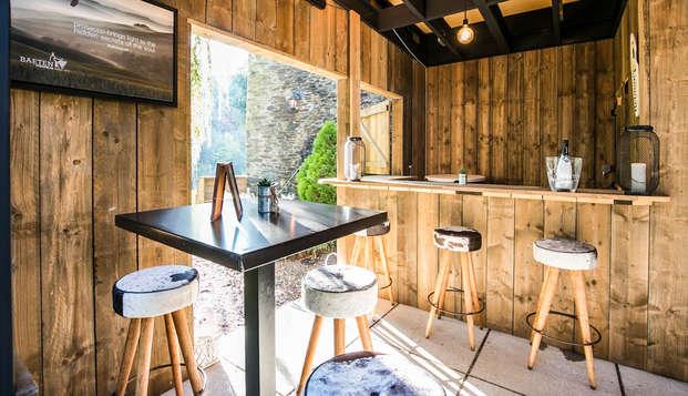 Charmeweekend met toegang tot de spa in de Belgische Ardennen