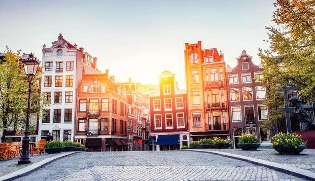Citytrip naar Amsterdam met verblijf in nieuw design hotel