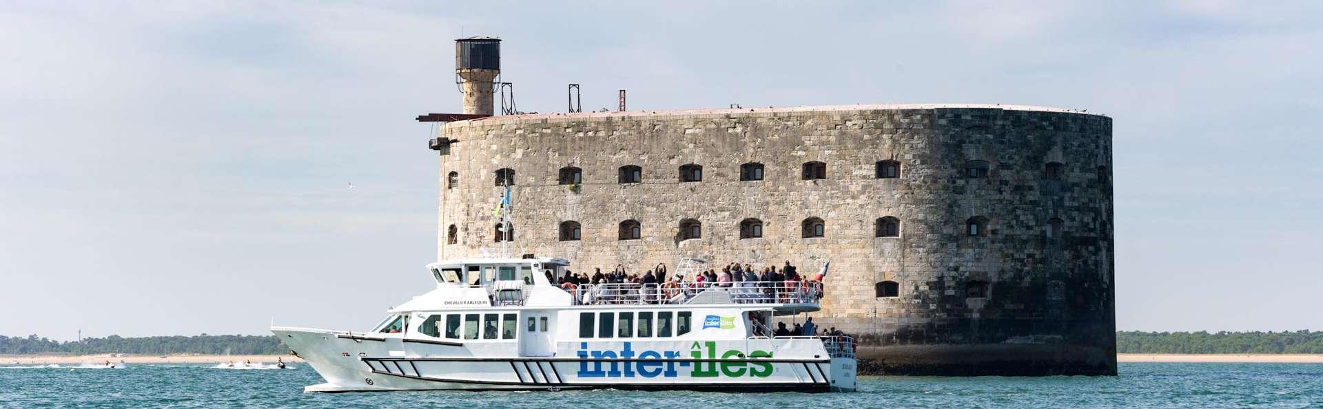 Week-end à la Rochelle et découverte du célèbre Fort Boyard