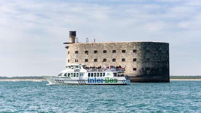 Escapade à la Rochelle avec croisière jusqu'à l'île d'Aix (via Fort Boyard)