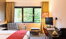 1 overnachting in een tweepersoons kamer comfort met tuinzicht voor 2 volwassenen