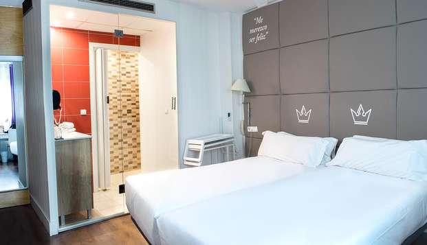Descubre Madrid en un hotel temático en Plaza Castilla