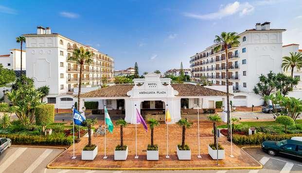 Escapada a Marbella en hotel céntrico y moderno 4* con desayunos incluidos
