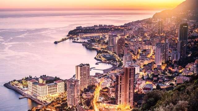 Brise iodée sur la Côte d'Azur à Monte-Carlo