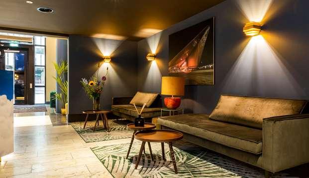 Diseño, confort y muchas compras en Róterdam