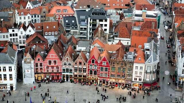 Luxueus designhotel midden in het historische centrum van Brugge