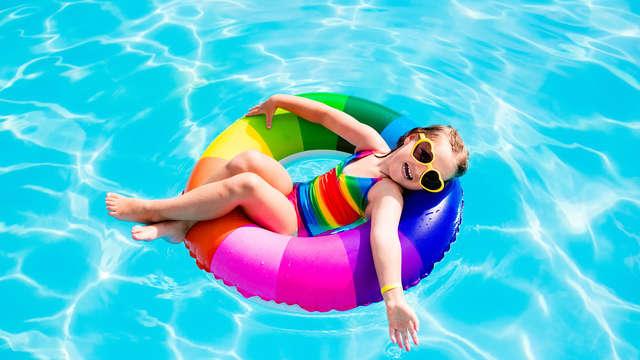 Vacaciones en familia en Media Pensión en la playa de Pineda de Mar