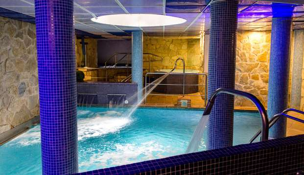 Escapada en el mejor Spa de Mogarraz con acceso incluido al circuito y cena típica
