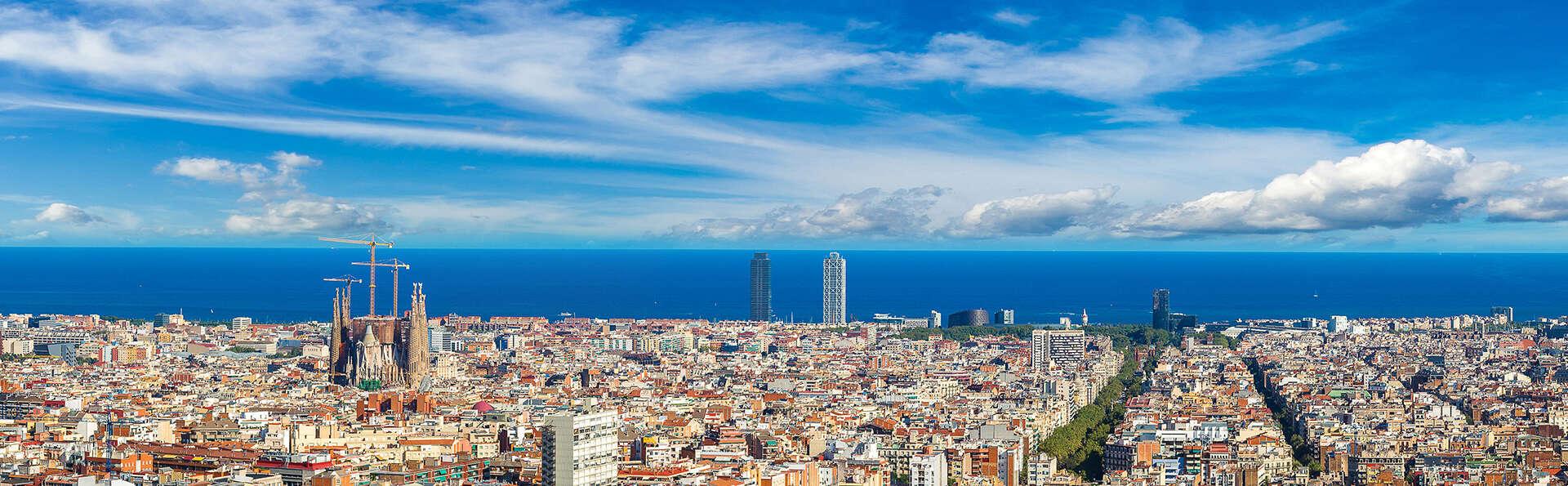 Descansa en un hotel 4* en pleno centro de Barcelona