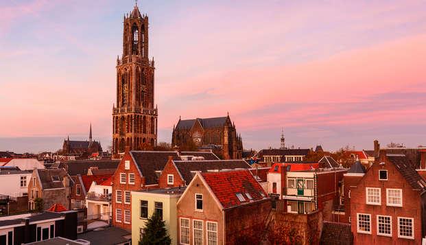 Hip Boutique hotel in het romantische centrum van Utrecht