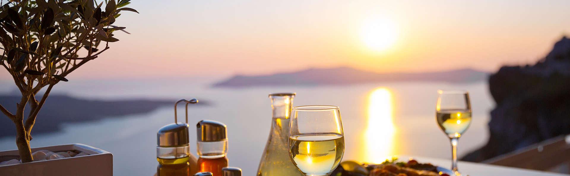 Escapade gastronomique avec dîner surplombant la mer (à partir de 2 nuits)