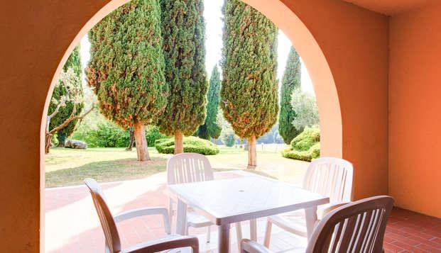 Descubre el lago de Garda y sus alrededores en apartamento de hasta 6 personas