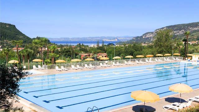 Vacaciones en el Lago de Garda en apartamento con vistas al lago de hasta 6 personas