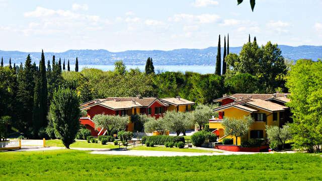 En el Lago de Garda en apartamento con vistas al lago de hasta 4 personas