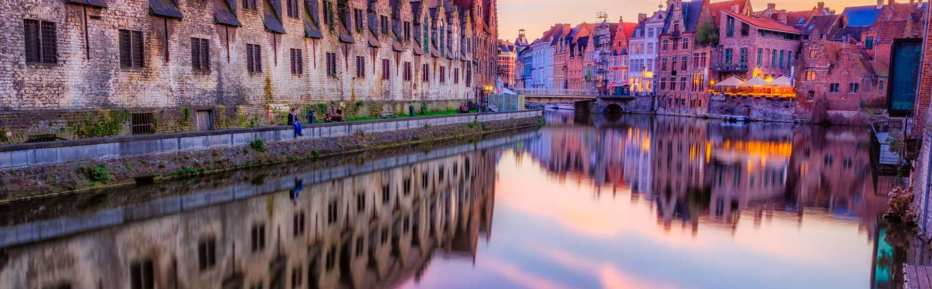 Flânez dans les ruelles historiques de Gand