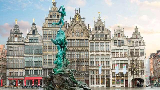 Flânez dans les ruelles historiques d'Anvers