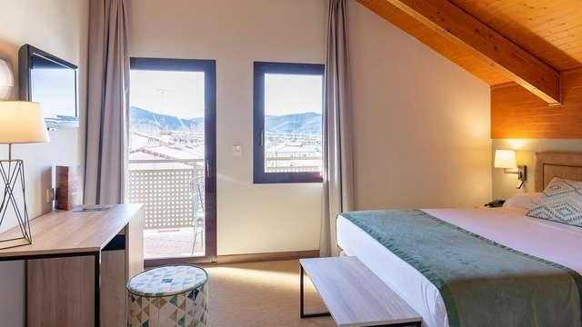 Romanticismo y relax con circuito spa en hotel 4* Jaca