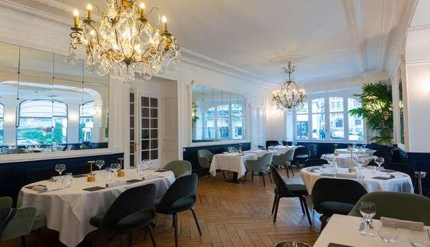 Week-end avec dîner gastronomique dans un hôtel de charme en plein coeur d'Aix les Bains
