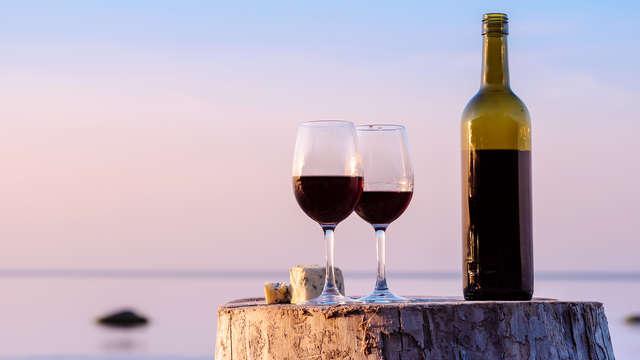 Verre de vin pour 2 adultes