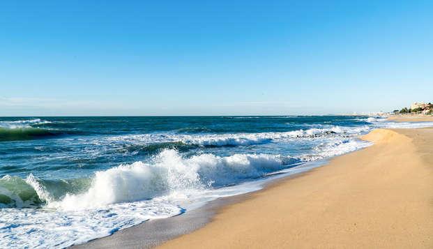 Oferta de 2 noches: Vista mar, Spa ilimitado y una cena... En la Costa del Maresme
