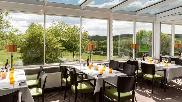 Séjour et dîner avec vue sur les Ardennes Luxembourgeoises