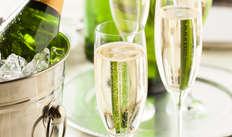 Petite bouteille de champagne
