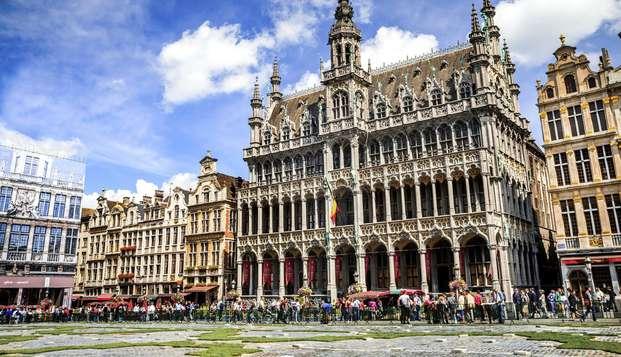 Citytrip en la ciudad lleno de cultura, de confort y de historia en la bella ciudad de Bruselas