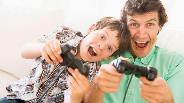 Acceso a la zona de videojuegos - Game Experience