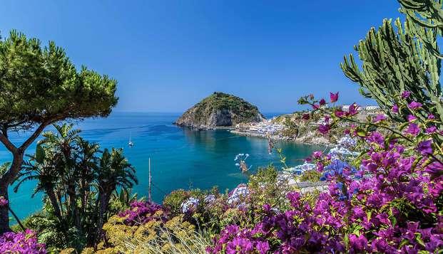 Week-end à Forio d'Ischia, avec accès au spa et soin à base de boue inclus
