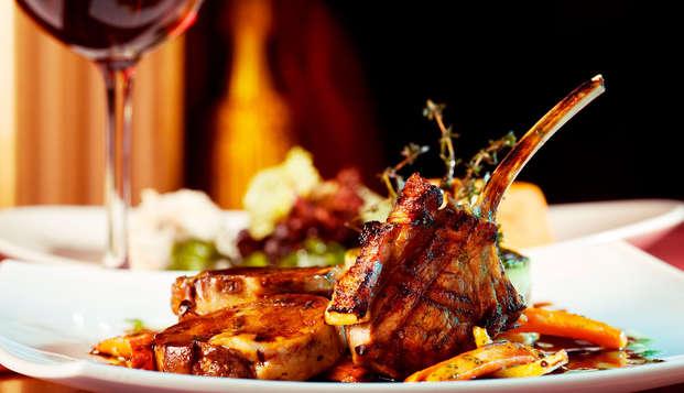 Escapada gastronómica cerca de León con Cena Degustación y botella de cava