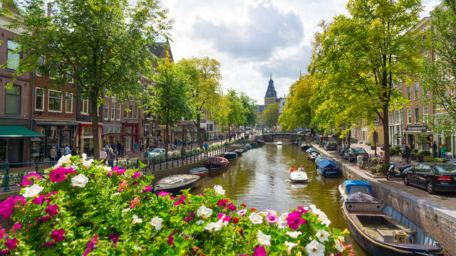 Escapada en el centro de Ámsterdam