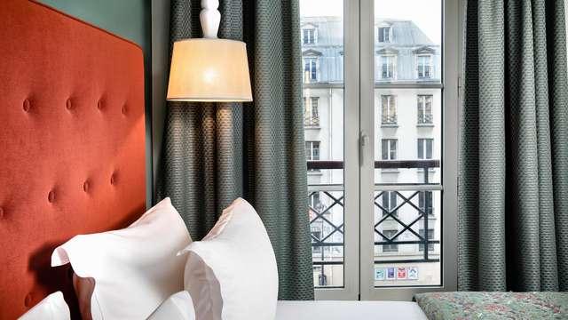 Week-end en chambre supérieure à Paris à deux pas du Marais et de la Place de la Bastille