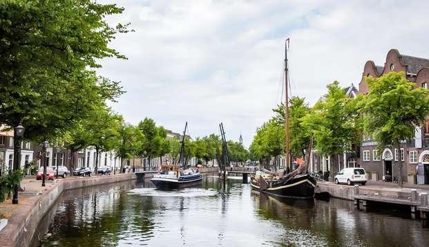 Verblijf in een Suite gevestigd in een rijksmonument in Schiedam