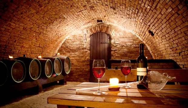 Escapada en un apartamento en Ezcaray con visita y degustación de vino en Bodegas Lecea