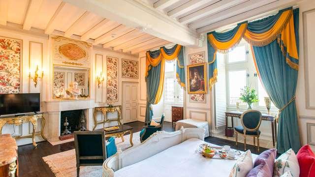Luxe et raffinement au Château Le Prieuré entre Saumur et Angers