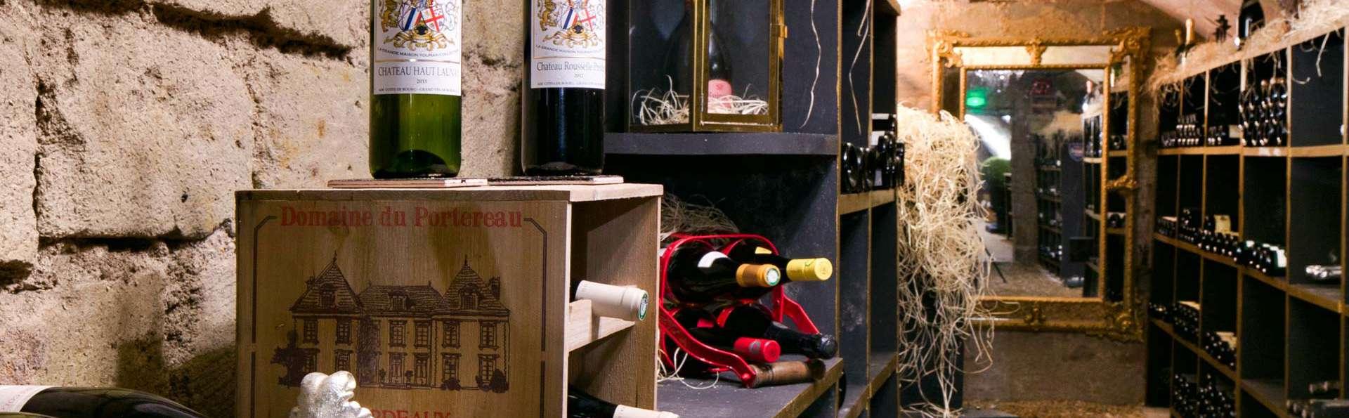 Weekend au Château Le Prieuré avec une visite & dégustation à la maison Ackerman
