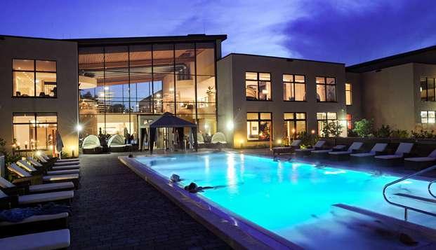 Puro disfrute en el precioso spa Monte Mare de Bedburg (a partir de 2 noches)