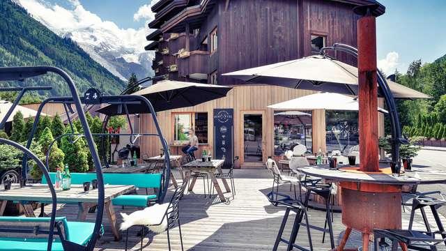 Escapade au cœur des montages, à Chamonix