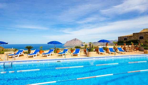 Prenota ora e risparmia: vacanza da 5 notti con piscina vicino San Vito Lo Capo
