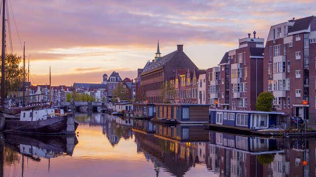 Wandel door de historische straatjes van Leiden