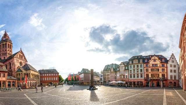 Ontdek Mainz en verblijf in luxehotel met zicht op de Rijn