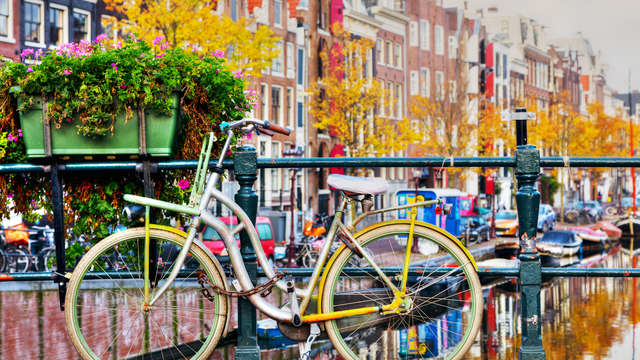Geniet van een fietsweekend in Amsterdam (vanaf 2 nachten)