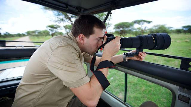 Escapada en un hotel rural con safari fotográfico 4x4 por la dehesa extremeña