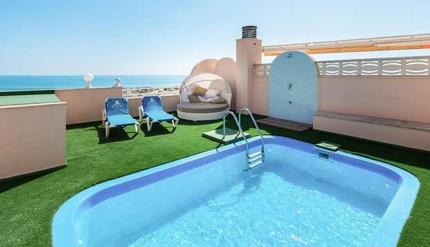 Lujo & Relax: suite con piscina privada y spa en Oliva, Valencia