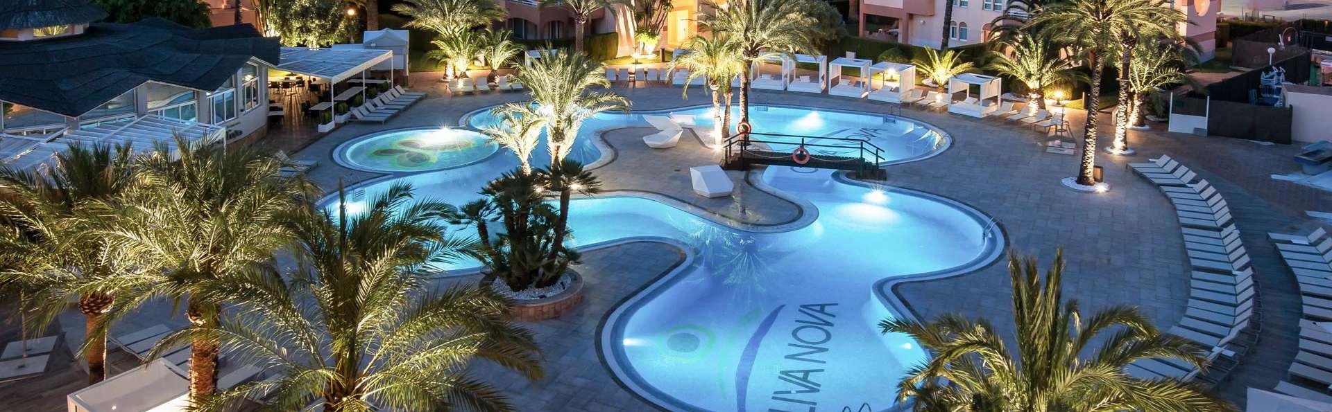 Weekend de luxe: diner dégustation, spa et cava en hotel 5* face á la mer