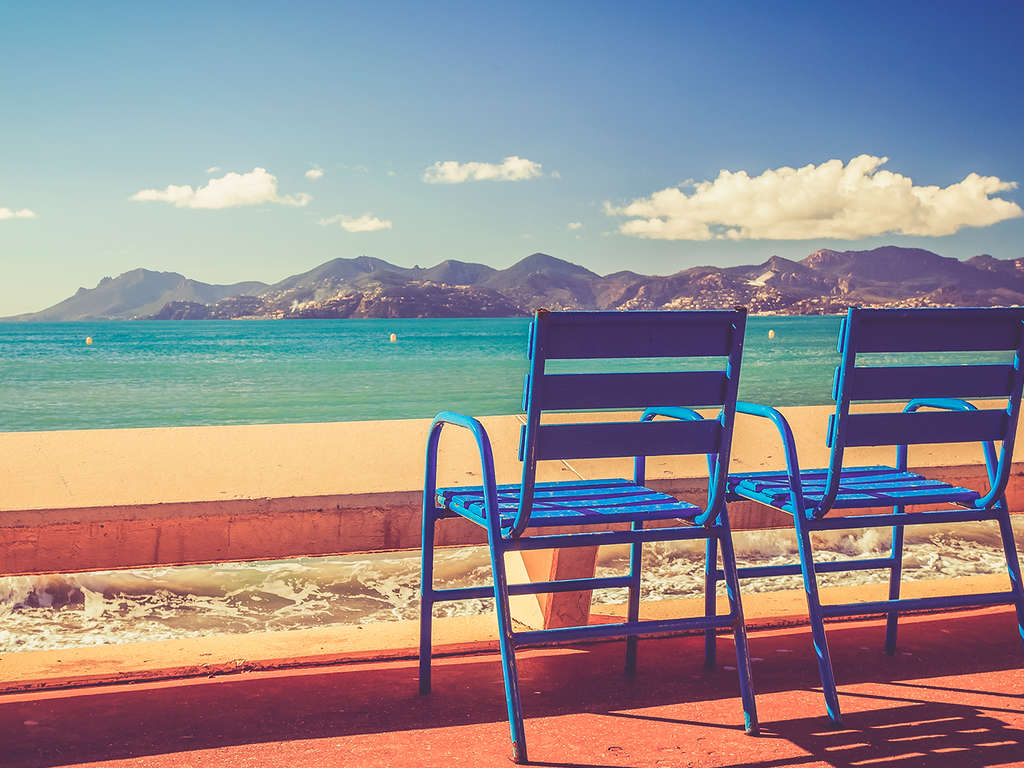 Séjour Alpes-Maritimes - Shopping, plage et détente dans un 4 étoiles cannois situé à 200 mètres de la croisette  - 4*