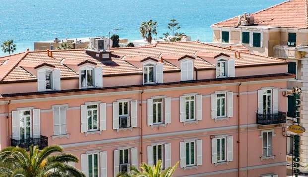 Séjour dans un hôtel situé en plein centre-ville de Sanremo, à deux pas de la mer !