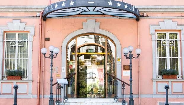 Séjour à Sanremo en demi-pension dans un superbe hôtel situé à deux pas de la mer !
