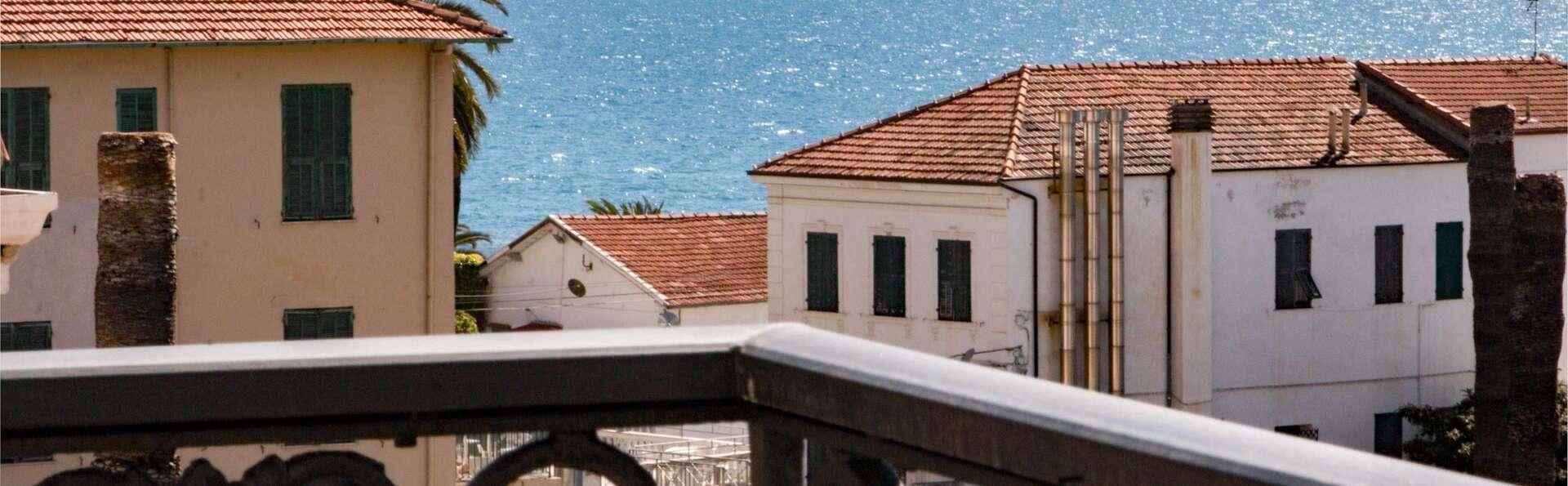 Pause détente à Sanremo, dans une chambre avec vue sur la mer !