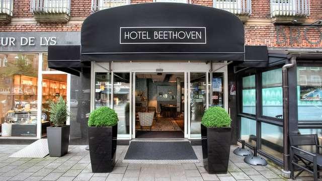 City trip à Amsterdam dans le magnifique hôtel Beethoven